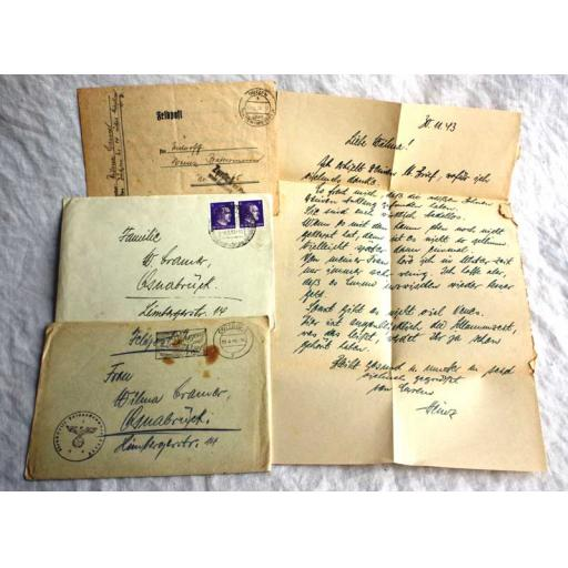 German Feldpost Letters Home