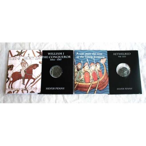 2 Saxon/Norman Coins
