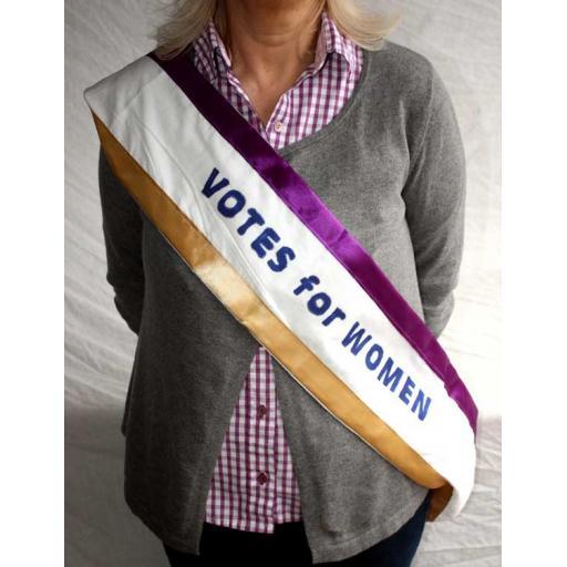 Suffragettes Sash