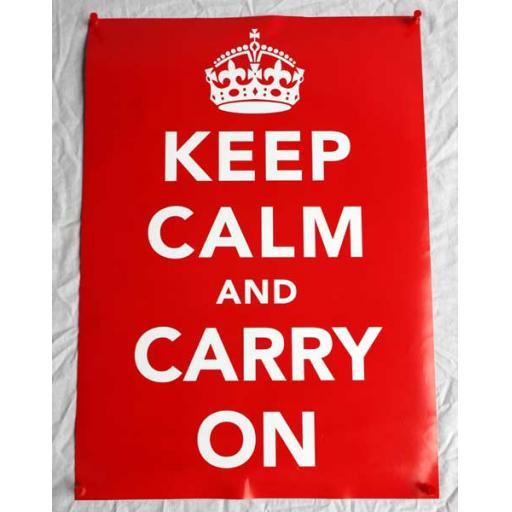 WW2 Keep Calm Poster