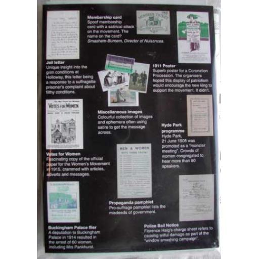 Suffragettes Replica Pack