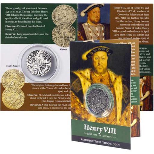 2 x Tudor Coins