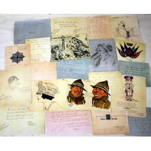 WW1 Nurse's Patients' Autographs
