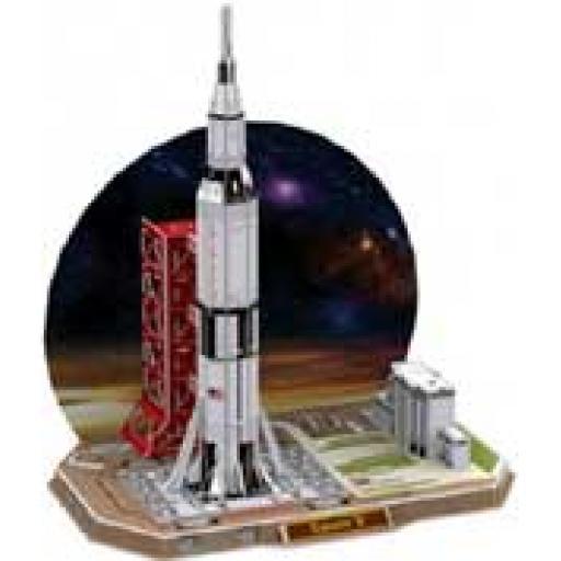 3D Build it Saturn V