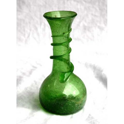 Green Vase - Snake