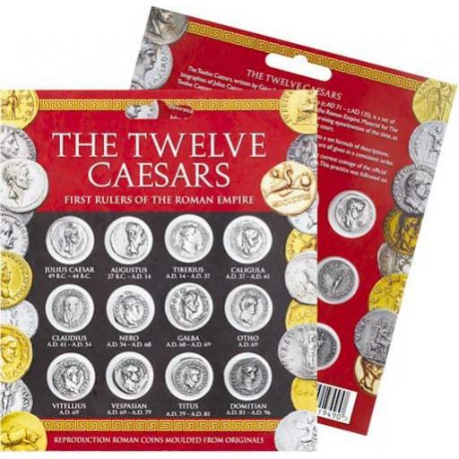 12 x Caesar Coins