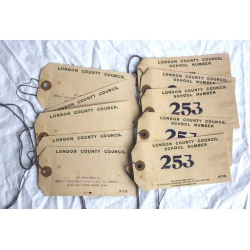 Child Evacuee Labels