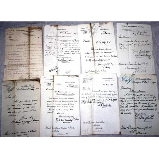 Genuine Victorian Letter