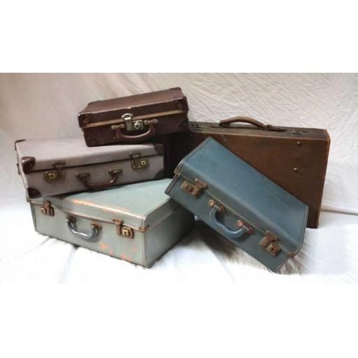 Evacuee Children's Suitcases