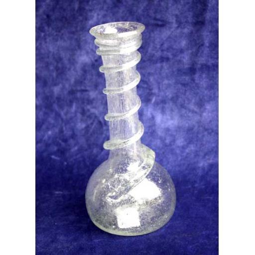 Clear Vase - Snake