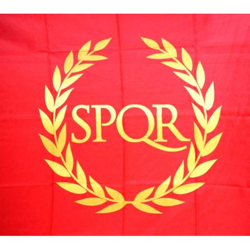 Large Roman Empire Flag