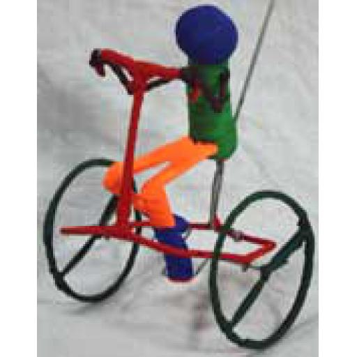 Pushalong Cyclist