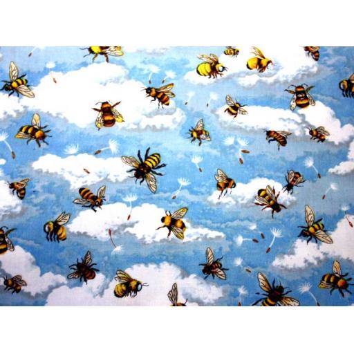 Bumblebee Sky Textile