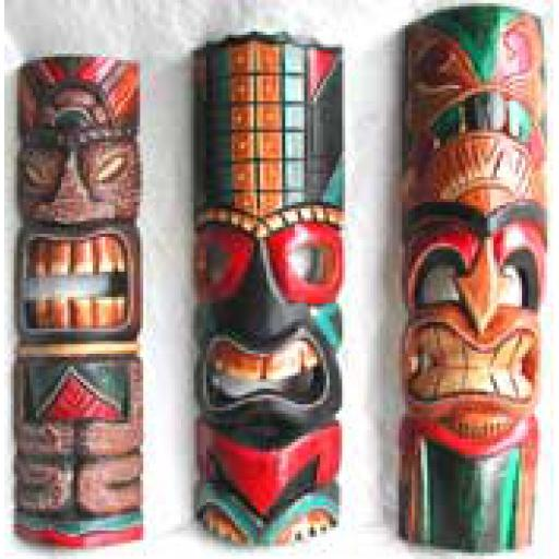 Small Tiki Totem Masks