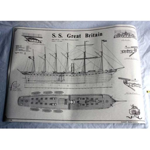 SS Great Britain Plans