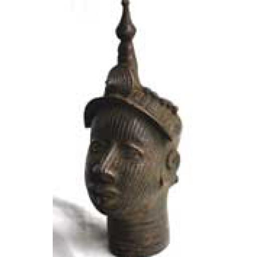Bronze Ife Head