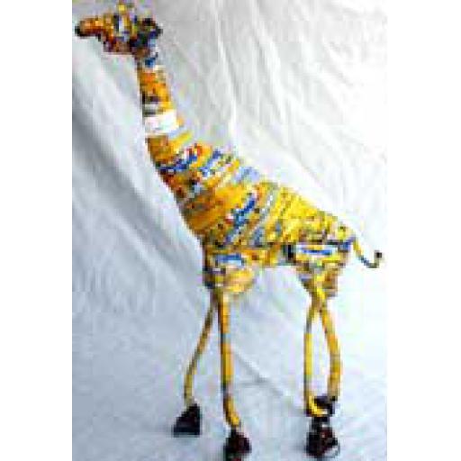 Tin Can Giraffe