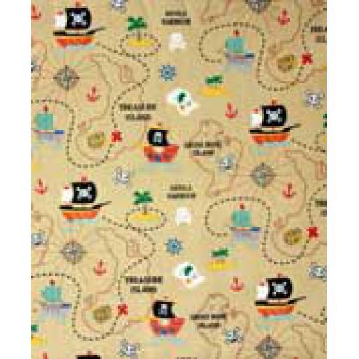 Treasure Island Textile