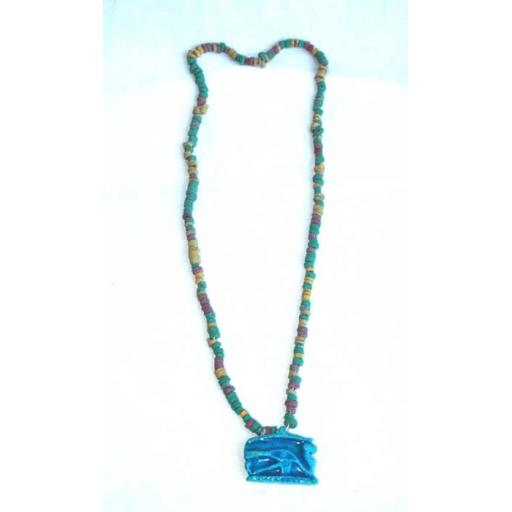 Nile Clay Necklace