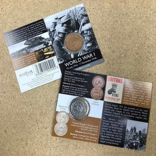 WW1 Coin Pack