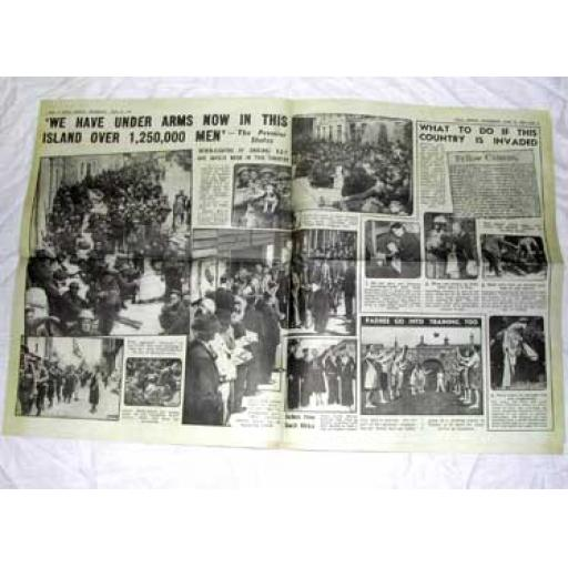 Battle of Britain Newspaper