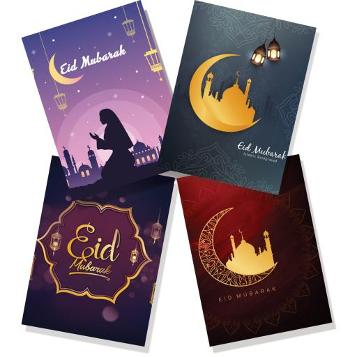 Eid Cards (Pack of 4)