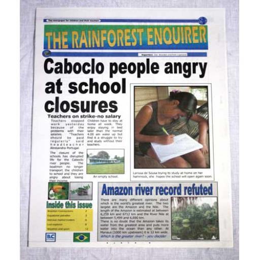 3 x Rainforest Enquirer