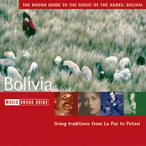 Bolivia Music CD