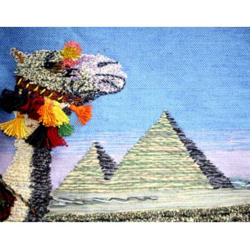 Large Pyramids Tapestry