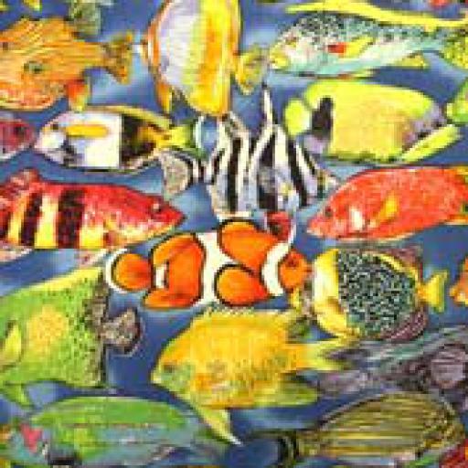 Tropical Fish Textile