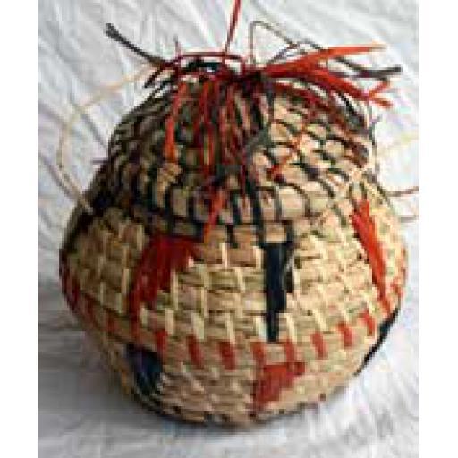 Woven Congo Basket
