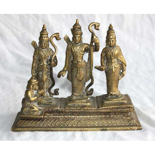 Large Brass Ramdarbar