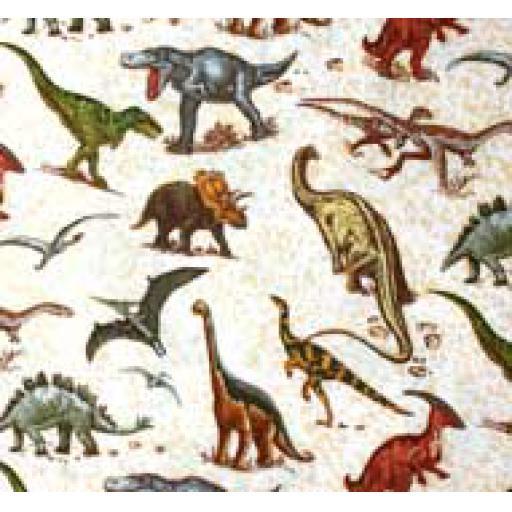 Dinosaur Sand Textile