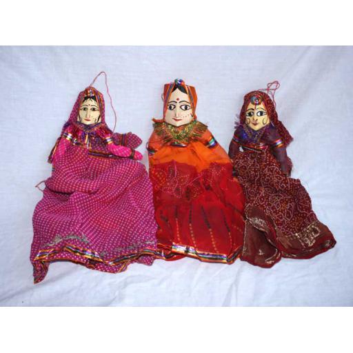 3 x Rai Puppets