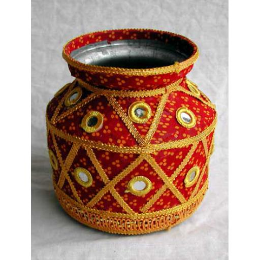 Decorated Water Pot