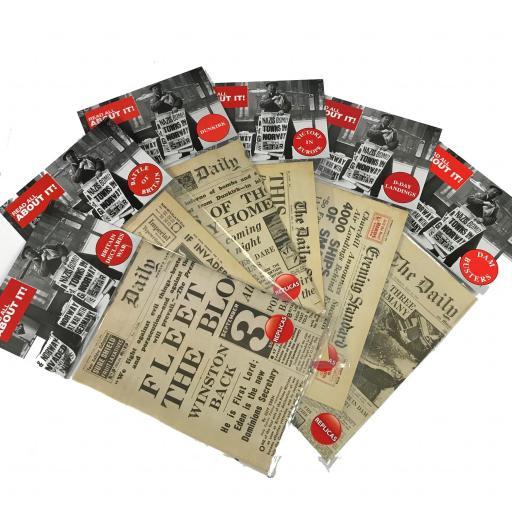 World War 2 Newspaper Pack