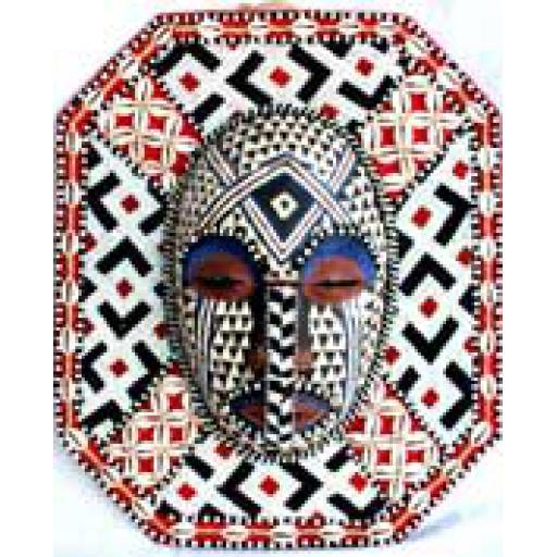Kuba Beadwork Mask