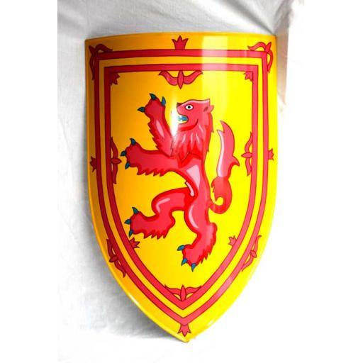 Lion Rampant Shield