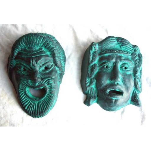 2 x Theatre Masks