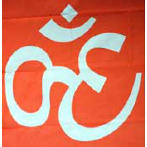 Large Hindu Flag