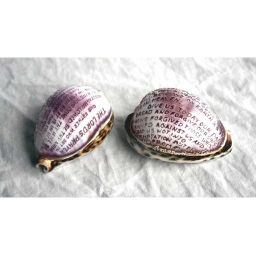 Cowrie Shell Lord's Prayer