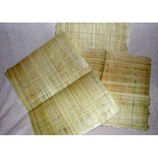 3 x Plain Papyrus