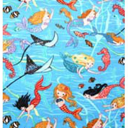 Mermaid Textile