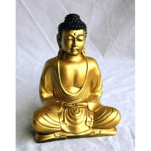 Medium Gold Buddha