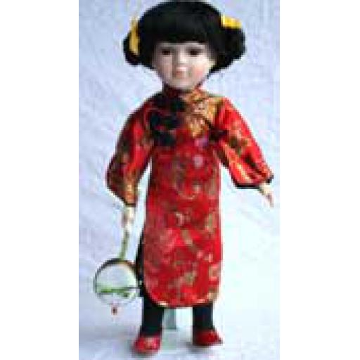 Large Red Doll