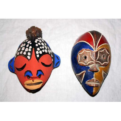 Clay Passport Mask