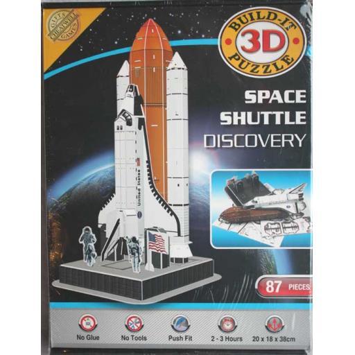 3D Build it Space Shuttle