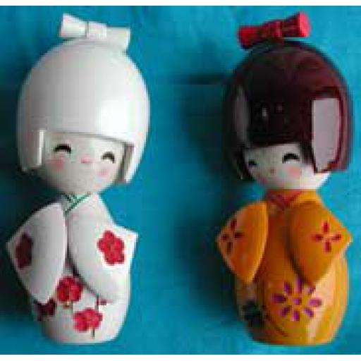 Small Wooden Dolls