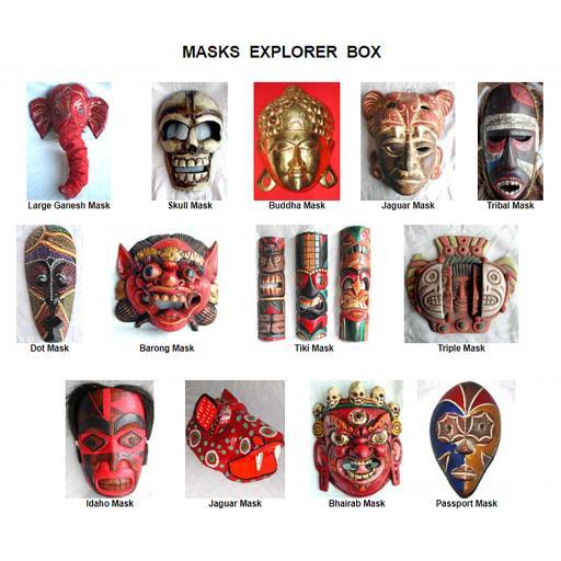 Masks Explorer Box