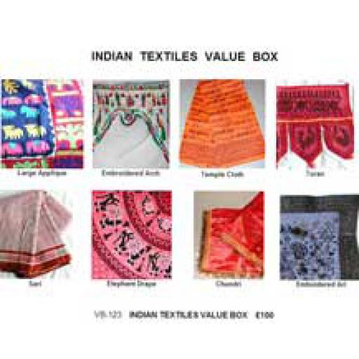 Indian Textiles Value Box